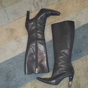 Nine West High Heeled Boots Sz 7
